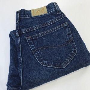 Vintage 70s 80s Lee High Rise Waist Mom Jeans